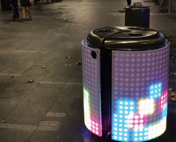 48 Creative Ideas To Reduce Littering Vandalism Oddee Delectable Exterior Trash Receptacles Creative Painting