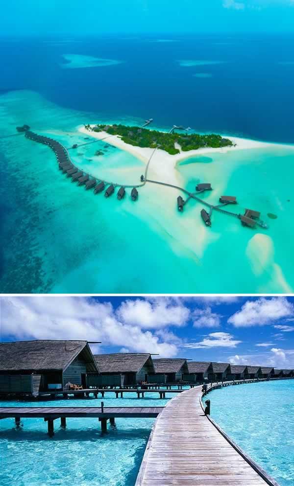 Floating Hotel Part - 25: 1Cocoa Island, Maldives