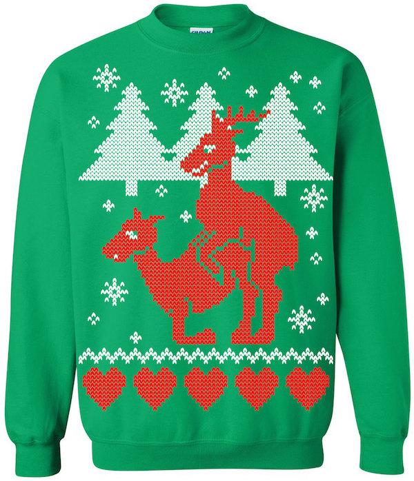 13 Weird Christmas Sweaters - Oddee