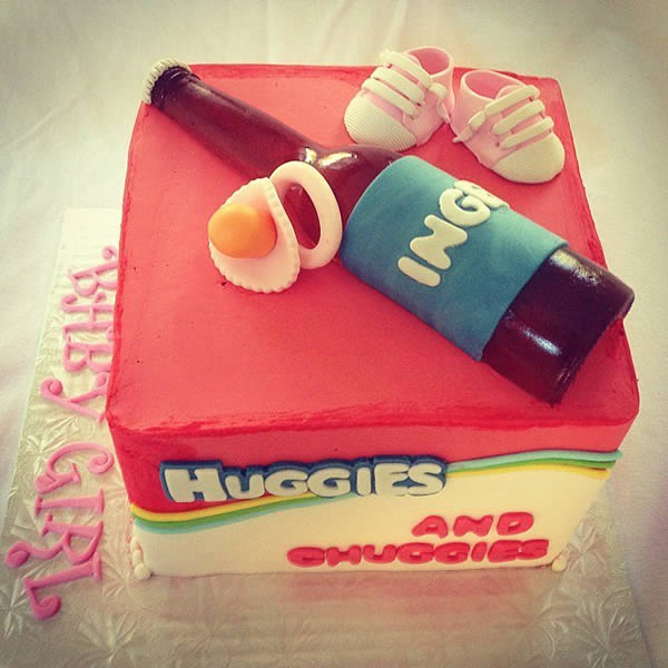 12 Coolest Dad Shower Cakes Manshower Babyshower Daddyshower