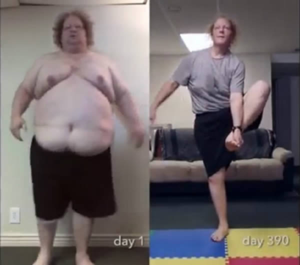 2The Man Who Lost 300 Pounds In Just 15 Months Through Yoga