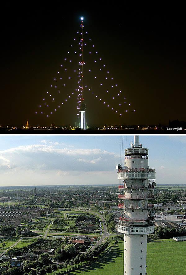8worlds tallest christmas tree netherlands - Worlds Tallest Christmas Tree