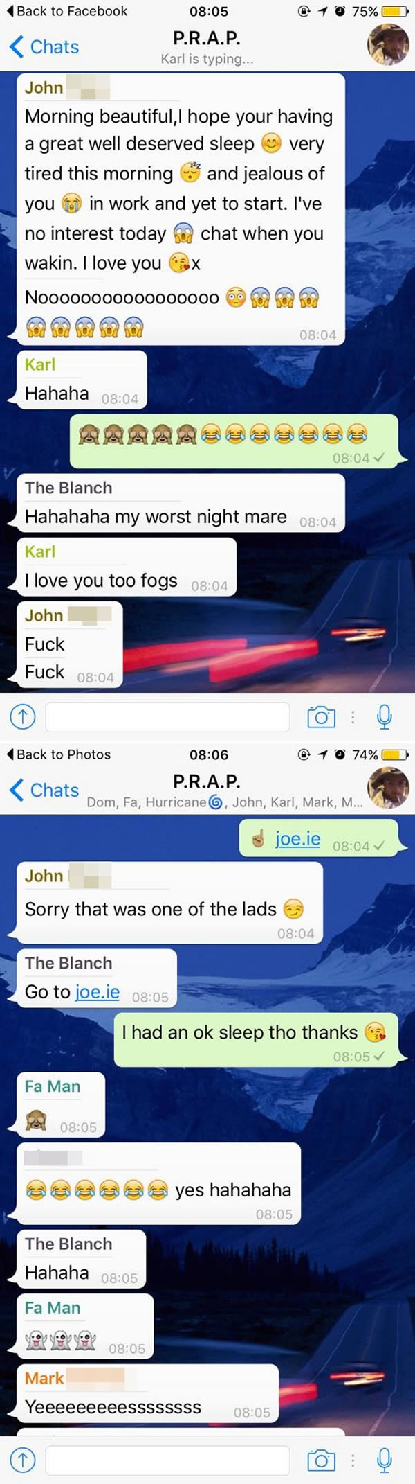 soppy messages girlfriend
