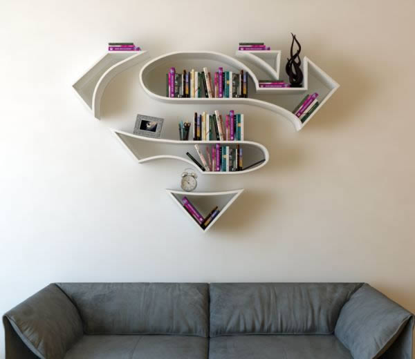 Burak Do?an Is A Product And Industrial Designer In Istanbul That Makes  Wall Mounted Bookshelves That Are Ideal For A Superherou0027s Secret Lair Or  Cozy Den.