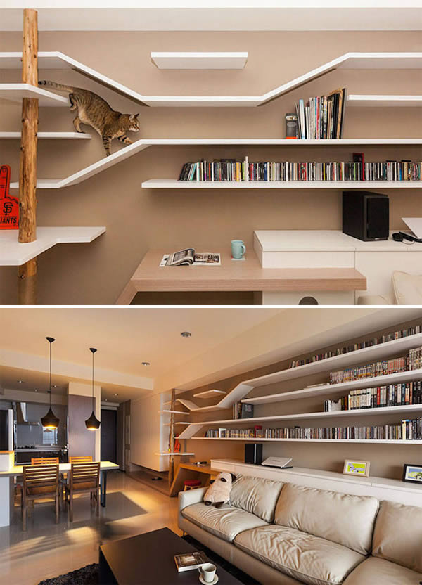 10 Seriously Awesome Bookshelves