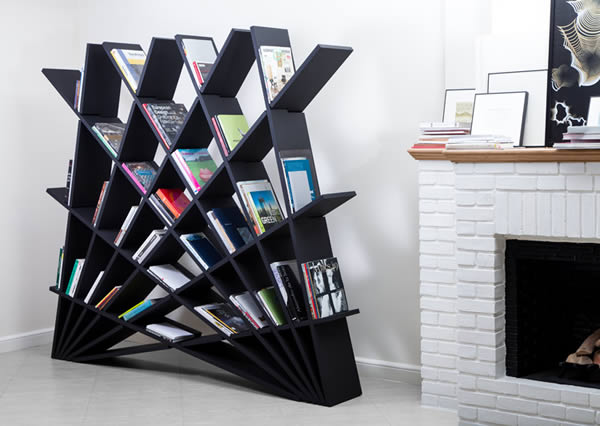 Studio Pousti Designer Maryam Pousti Has Created A Bookshelf As Part Of Her  CHEFT Collection, Which Was Shown During Milan Design Week In 2015.