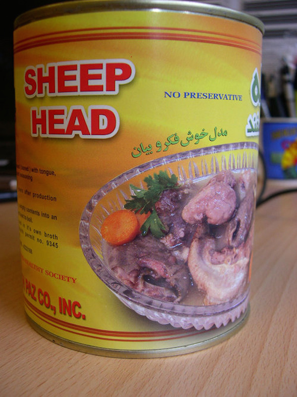 Odd Canned Foods