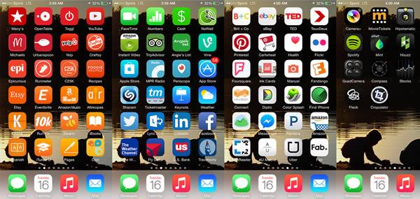 Phone Organization Home Screen Samsung