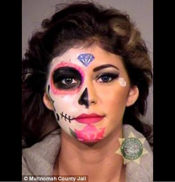 12 Craziest Photos of People Arrested on Halloween - Oddee