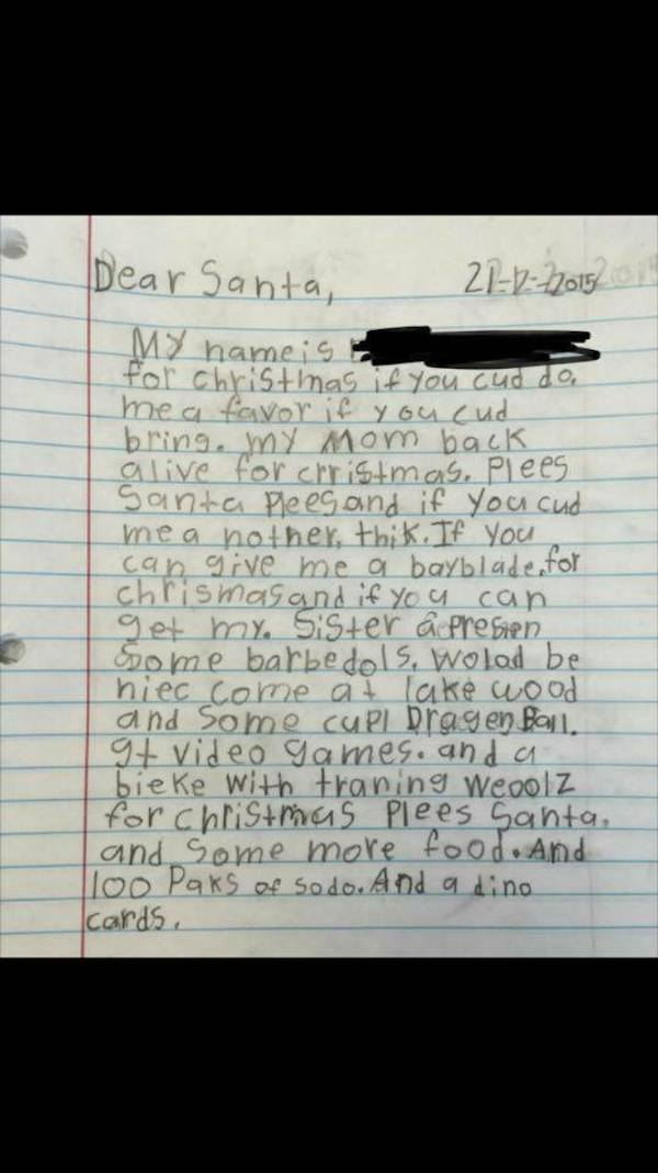 8 Touching Letters To Santa  Oddee