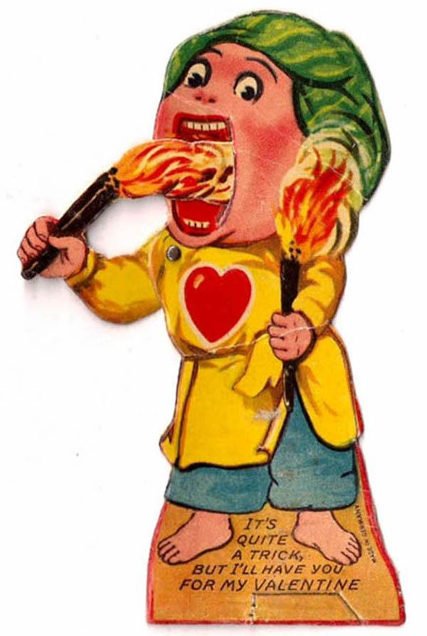 15 Creepy Vintage Valentines