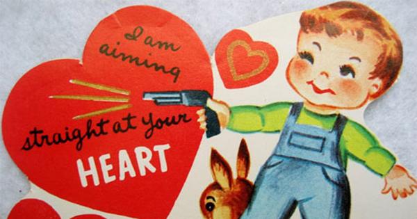 15 Creepy Vintage Valentines Oddee