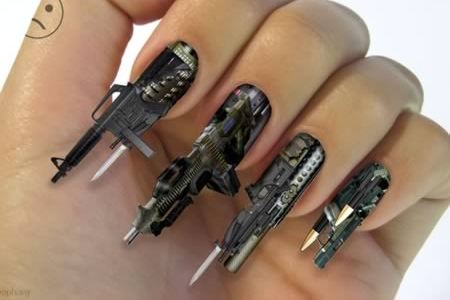 15 Incredibly Awesome Nail Designs Awesome Nails Oddee