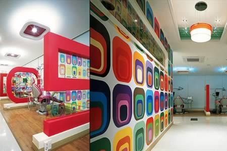 10 coolest dental offices dental office cool offices oddee - Awesome Beautiful Dental Offices