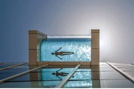 10 Most Awesome Suspended Pools Oddee