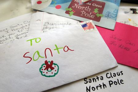 8 touching letters to santa oddee spiritdancerdesigns Choice Image